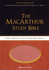 NASB MacArthur Study Bible (Imitation Leather, Brown/Orange - Case of 12)