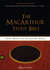NASB MacArthur Study Bible, Indexed (Imitation Leather, Brown/Red - Case of 12)