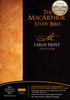 NASB MacArthur Study Bible, LARGE PRINT (Hardcover - Case of 6)