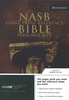 NASB Personal Size Reference Bible, GIANT PRINT, Indexed (Bonded Leather, Black - Case of 16)