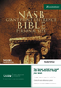 NASB Personal Size Reference Bible, GIANT PRINT, Indexed (Bonded Leather, Burgundy - Case of 16)