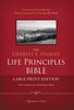 NASB The Charles F. Stanley Life Principles Bible, LARGE PRINT (Hardcover - Case of 8)
