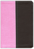 NIV and KJV Side-by-Side Bible, Large Print (Imitation Leather, Pink/Brown - Case of 8)