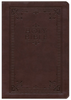 NIV and The Message Side-by-Side Bible, LARGE PRINT (Imitation Leather, Brown - Case of 8)