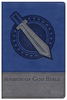 NIV Armor of God Bible (Imitation Leather, Blue/Silver - Case of 40)
