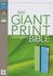 NIV Compact Bible, GIANT PRINT (Leathersoft, Green/Blue - Case of 12)