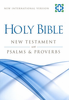 NIV Holy Bible New Testament With Psalms & Proverbs (Paperback - Case of 160)