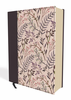 NIV Journal The Word Bible (Cloth Over Board, Pink Floral - Case of 12)