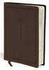 NIV Journal the Word Bible, Large Print (Imitation Leather, Brown - Case of 8)
