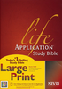 NIV Life Application Study Bible, Large Print (Hardcover - Case of 8)