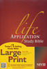 NIV Life Application Study Bible, Large Print, Indexed (Hardcover - Case of 8)