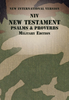 NIV Pocket New Testament With Psalms And Proverbs, Military Edition (Paperback - Case of 40)