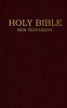 NIV Shirt-Pocket New Testament (Burgundy Imitation Leather - Case of 200)