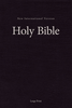 NIV Single-Column Pew & Worship Bible, LARGE PRINT (Hardcover, Black - Case of 12)