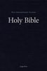 NIV Single-Column Pew & Worship Bible, LARGE PRINT (Hardcover, Blue - Case of 12)