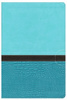 NIV Study Bible, LARGE PRINT (Imitation Leather, Blue/Turquoise - Case of 6)
