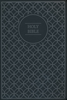 NIV Value Thinline Bible w/LARGE PRINT (Imitation Leather, Gray/Black - Case of 20)