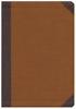 NIV Zondervan Study Bible, Large Print (Leathersoft, Brown/Tan - Case of 6)