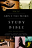 NKJV Apply the Word Study Bible, Indexed (Imitation Leather, Burgundy/Black - Case of 12)