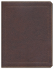 NKJV Journal the Word Bible (Bonded Leather, Brown - Case of 12)