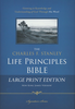 NKJV The Charles F. Stanley Life Principles Bible, LARGE PRINT (Hardcover - Case of 8)