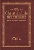 NKJV The Christian Life New Testament (Imitation Leather, Burgundy - Case of 48)