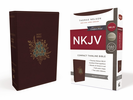 NKJV Thinline Bible, Compact (Imitation Leather, Burgundy/Special - Case of 32)