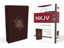 NKJV Thinline Bible (Imitation Leather, Burgundy/Special - Case of 24)