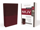 NKJV Value Thinline Bible, Compact (Imitation Leather, Burgundy - Case of 32)