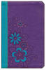 NLT Girls Life Application Study Bible (LeatherLike, Purple/Teal - Case of 12)