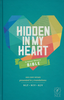 NLT Hidden in My Heart Scripture Memory Bible (Hardcover - Case of 10)