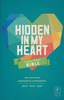 NLT Hidden in My Heart Scripture Memory Bible (Softcover - Case of 10)
