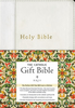NRSV The Catholic Gift Bible (Imitation Leather, White - Case of 20)