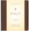 NRSV XL Bible, LARGE PRINT (Imitation Leather, Brown - Case of 12)
