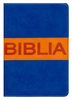 NVI Spanish Ultrafine Compact Bible (NVI Santa Biblia Ultrafina Compacta, Contempo) (Imitation Leather, Blue/Orange - Case of 40)