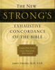 The New Strong's Exhaustive Concordance of The Bible, Large Print (Hardcover - Case of 6)