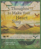 Thoughts to Make Your Heart Sing, Anglicized Edition (Hardcover - Case of 24)