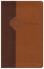 TLB The Living Bible (Imitation Leather, Brown/Tan - Case of 16)