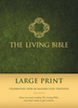 TLB The Living Bible, LARGE PRINT (Hardcover, Green - Case of 10)