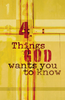 Tract: Four Things God Wants You to Know.  ESV, Doug Salser (Tracts - Case of 250)