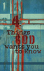 Tract: Four Things God Wants You to Know.  KJV, Doug Salser (Tracts - Case of 250)