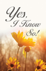 Tract: Yes, I Know So! (Tracts - Case of 250)