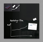 "19"" x 19"" Magnetic Glass Board Kit"