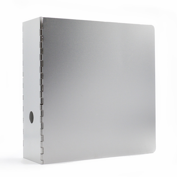 3 Ring Metal Binder 4 Inch Spine