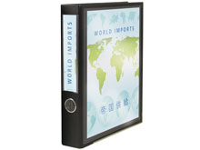 "One-Touch™ 3-Ring View Binder (2"" Spine)"