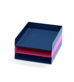 Bright Desk 3 Tray Multicolor Set