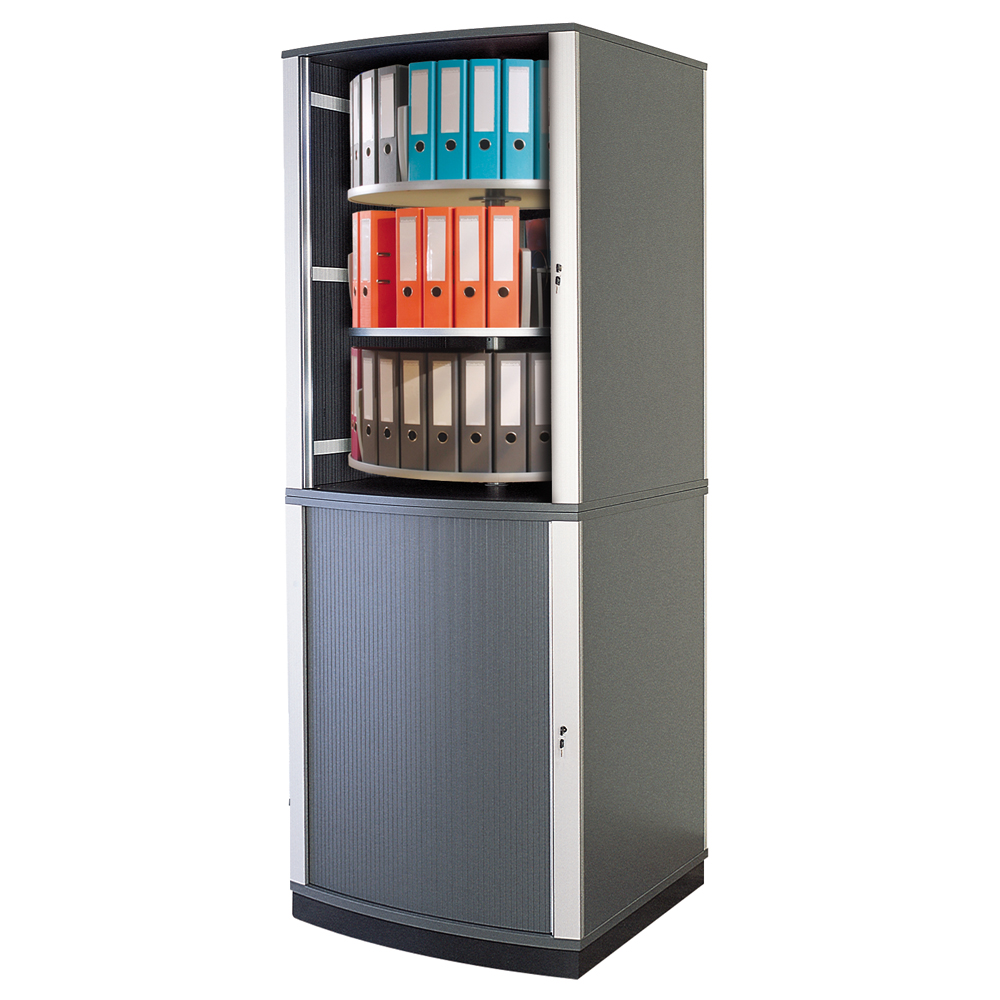 6 tier lockfile carousel cabinet for Carousel for kitchen cabinets