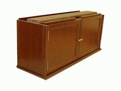 Barrister Bookcase Double Door Cabinet Shelf Section