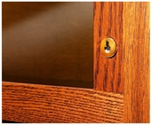 Barrister Bookcase Optional Lock