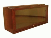 Barrister Bookcase Receding Glass Door Shelf Section